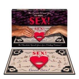 "Erotinis stalo žaidimas ""The Spirits Want You to Have Sex"" - Kheper Games"