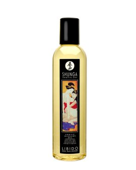 "Masažo aliejus ""Libido Exotic Fruit"", 250 ml - Shunga"