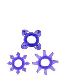 """Žiedų rinkinys """"Tickle C-rings"""" - ToyJoy"""