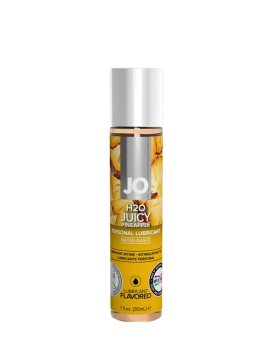 "Vandens pagrindo lubrikantas ""H2O Juicy Pineapple"", 30 ml - System JO"