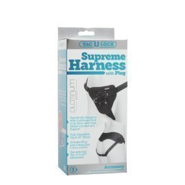 "Diržas strap-on seksui ""Supreme Harness"" - Doc Johnson"