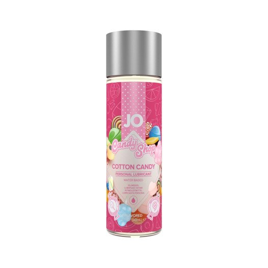 "Vandens pagrindo lubrikantas ""Candy Shop Cotton Candy"", 60 ml - System JO"