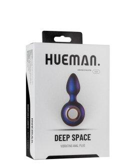 """Vibruojantis analinis kaištis """"Deep Space"""" - Hueman"""