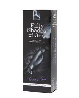 """G taško vibratorius kiškutis """"Greedy Girl"""" - Penkiasdešimt pilkų atspalvių kolekcija"""
