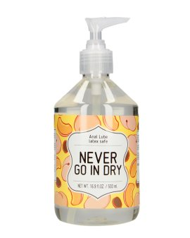 """Analinis vandens pagrindo lubrikantas """"Never Go in Dry"""", 500 ml - S-Line"""