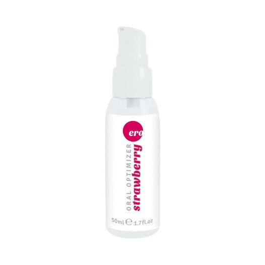 "Gelis oraliniam seksui ""Oral Strawberry"", 50 ml - Hot"