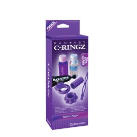 "Purpurinis rinkinys ""Party pack"" - Fantazy C-Ringz"