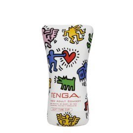 "Masturbatorius ""Soft Tube Keith Haring"" - Tenga"