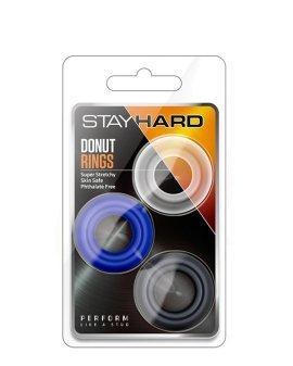 """Penio žiedų rinkinys """"Stay Hard Donut Rings"""" - Blush"""