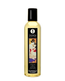 "Masažo aliejus ""Strawberries & Champagne Romance"", 250 ml - Shunga"