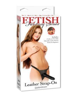 "Strap-on dildo ""Leather Strap-On"" - Fetish Fantasy"