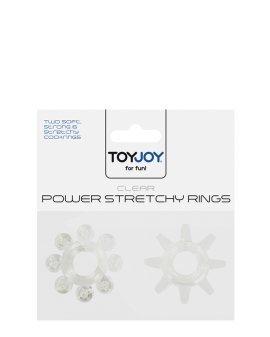 """Žiedų rinkinys """"Power Stretchy Rings"""" - ToyJoy"""