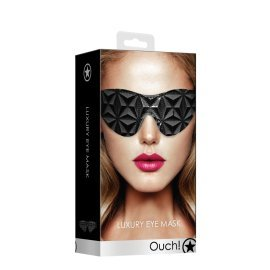 "Juoda akių kaukė ""Luxury Eye Mask"" - Ouch!"
