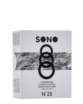 """Pilkas penio žiedų rinkinys """"No.25"""" - Sono"""