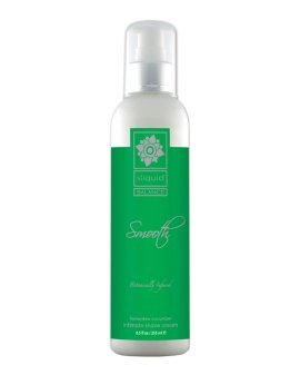 "Skutimosi kremas moterims ""Smooth Honeydew Cucumber"", 255 ml - Sliquid"