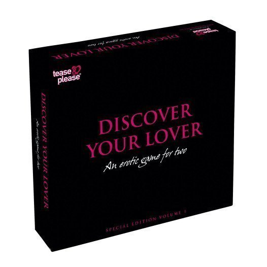 "Erotinis žaidimas poroms ""Discover Your Lover"" - Tease and Please"