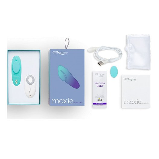 "Išmanusis dėvimas vibratorius ""We-Vibe Moxie"" - We-Vibe"