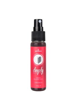 "Purškalas oraliniam seksui ""Deeply Love You Cinnamon"", 30 ml - Sensuva"