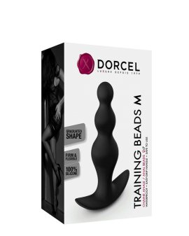 "Analiniai karoliukai ""Training Beads M"" - Dorcel"