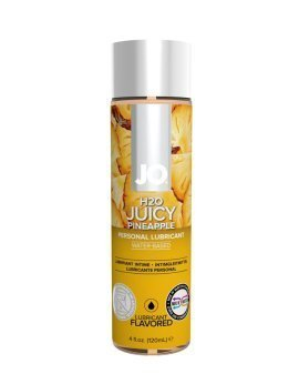 "Vandens pagrindo lubrikantas ""H2O Juicy Pineapple"", 120 ml - System JO"