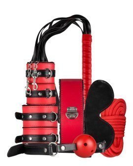 "Erotinis rinkinys poroms ""Secret Pleasure Chest Red Dragon"" - Loveboxxx"