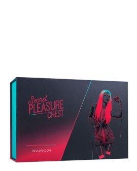 "Erotinis rinkinys poroms ""Secret Pleasure Chest Red Dragon"" - Loveboxxx"