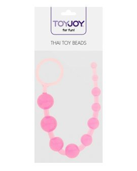 "Analiniai karoliukai ""Thai Toy Beads"" - ToyJoy"