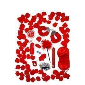 "Rinkinys ""Red Romance Gift Set"" - ToyJoy"