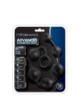 "Analiniai karoliukai ""Performance Advanced Silicone Anal Beads"" - Blush"