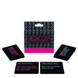 "Erotinis kortų žaidimas ""Bedroom Commands"" - Kheper Games"