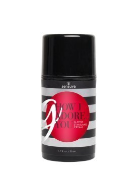 "Kremas G taškui ""G, How I Adore You"", 50 ml - Sensuva"