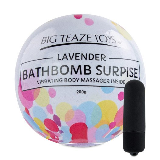"Vonios bomba ""Levander Bathbomb Surprise"" - Big Teaze Toys"