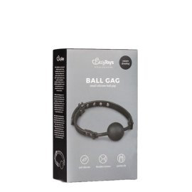 """Burnos kaištis """"Ball Gag With Silicone Ball"""" - EasyToys"""