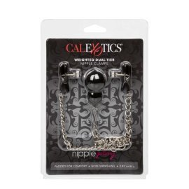 "Spenelių spaustukai ""Weighted Nipple Clamps"" - CalExotics"