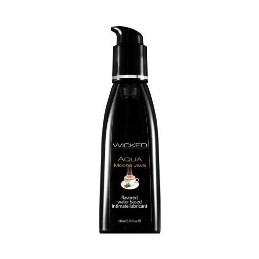 "Vandens pagrindo lubrikantas ""Wicked Aqua Mocha Java"", 60 ml - Wicked"