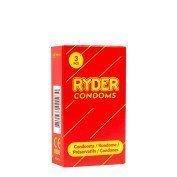 """Prezervatyvai """"Ryder Condoms"""", 3 vnt."""