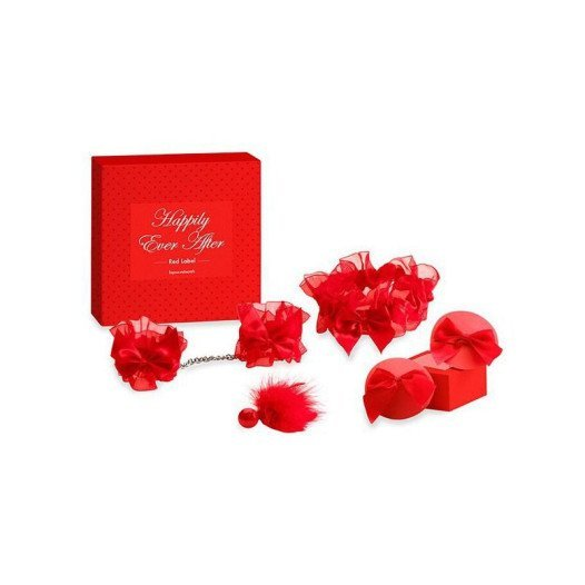 "Rinkinys ""Happily Ever After Red Label"" - Bijoux Indiscrets"