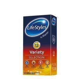 "Prezervatyvų rinkinys ""Variety"", 12 vnt. - LifeStyles"