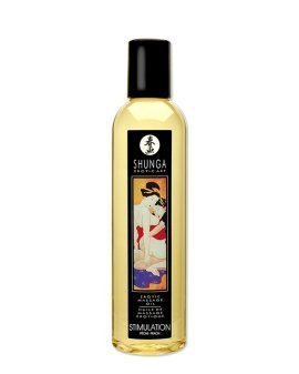 "Masažo aliejus ""Peach Stimulation"", 250 ml - Shunga"