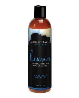 "Aromaterapinis masažo aliejus ""Heaven"", 240 ml - Intimate Earth"