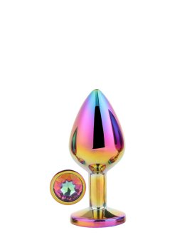 """Vidutinis analinis kaištis """"Multicolour Gleaming Love"""" - Dream Toys"""