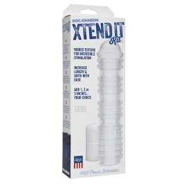 "Ilginanti penio mova ""Xtend It Kit Ribbed"" - Doc Johnson"