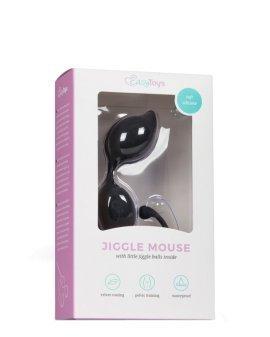 "Juodi vaginaliniai kamuoliukai ""Jiggle Mouse"" - EasyToys"