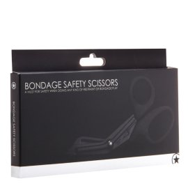 "Žirklės ""Bondage Safety Scissors"" - Ouch!"