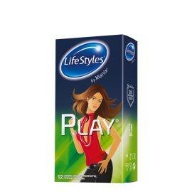 """Prezervatyvai """"Play"""", 12 vnt. - LifeStyles"""