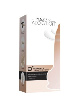 "Vibruojantis falo imitatorius ""Naked Addiction Nr. 8"" - BMS Factory"