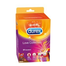 "Prezervatyvų rinkinys ""Love Collection"", 31 vnt. - Durex"
