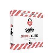 """Papildomai lubrikuoti prezervatyvai """"Super Lube"""", 36 vnt."""