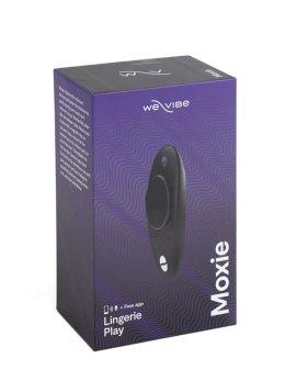 """Juodas išmanusis dėvimas vibratorius """"Moxie"""" - We-Vibe"""