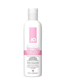 """Vandens pagrindo lubrikantas """"Actively Trying"""", 120 ml - System JO"""